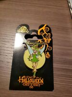 Halloween 2011 Tinker Bell as Witch Moon Green Outfit Peter Pan Disney Pin
