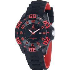 Orologio spinnaker fastnet sp5024-03 silicone colorato rosso-nero