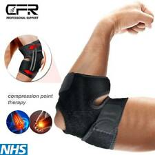 Elbow Brace Compression Support Gym Tennis Golfers Sleeve Arthritis Pain Relilef