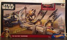 Hot Wheels Star Wars Tie Factory Takedown EZRA Die Cast Vehicle Included