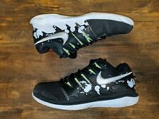 Men,s Nike Zoom Vapor X HC  Tennis Shoes SZ 6 -Black White Green- AV3911 001