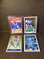 1990 Donruss Bo Jackson Kansas City Royals Fleer Upper Deck Topps MLB Cards