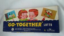 "vintage kids game ""Go-Together"" Lotto  retro graphics complete"