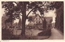 uralte AK, Reichsschulungsburg Oberursel Taunus Westseite 1938