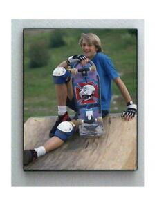 Rare Framed 1986 Skateboard Great Tony Hawk 8.5 X 11 Photo. Jumbo Giclée Print