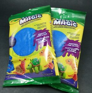 2x Crayola Model Magic 4 oz. Bags - Blue  - 4 Oz. ~ Perfect for Slime! NEW