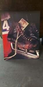 """NHL Jean Beliveau Jersey / SkatesColour photo 8 1/2 """" x 11 """""""