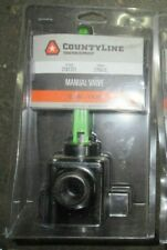 CountyLine Manual Shut Off Valve 10 GPM, 175 PSI