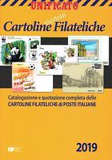 UNIFICATO UN CATALOGO DELLE CARTOLINE FILATELICHE EDIZIONE 2019