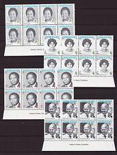 Zimbabwe 2008 Heroes Imprint Blocks, MNH (sheet margin) / Red Cross