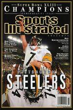 Pittsburgh Steelers Super Bowl Commemorative Poster - Big Ben