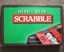 Scrabble Head to Head Board Game Spear's Games 1997 100% Complete! Free Post