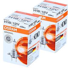 H18 OSRAM Original Line -Originalersatzteil- Scheinwerfer Lampe DUO-Pack-Box NEU