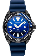 Seiko Men's Prospex  Special Edition Blue Silicone Automatic Divers Watch SRPD09