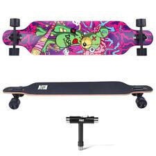 "Drop-Through Deck Skateboard Complete Longboard - PHAT™ - 41"" Bear"