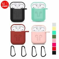 For Apple Airpod 1st Charging Case Shock Absorption Soft Silicone Airpods Cover