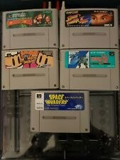 Super Famicom Games x5