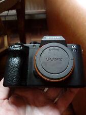 Sony Alpha a7s fotocamera W II Caricatore, batteria, custodia morbida, conteggio BOX; - 29048