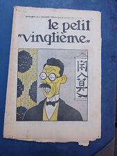 Tintin - TRES BEAU Petit Vingtième- n°38 du 20/09/1934 (Couv. Tintin) TBE!!!
