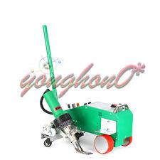 New Intelligent Pvc Pe Flex Banner Seam Welder With 1600w Heat Gun 220v