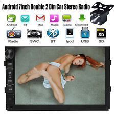 7'' 2 Din Car Stereo Radio MP5 Mirror Link for GPS Buletooth + rear view Camera