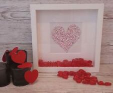 Square 3D Box/Deep Picture Frames Personalised