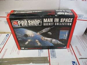 AMT ERTL PRO SHOP MAN IN SPACE ROCKET COLLECTION MODEL KIT 1:200 SCALE OPEN BOX