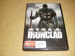 IRONCLAD action 2011 DVD history 13th century England King John iron clad R4