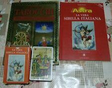 52 CARTE DELLA SIBILLA + LIBRO DEI TAROCCHI + GUIDA LA VERA SIBILLA ITALIANA