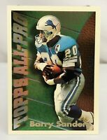 1994 Topps - All-Pros #10 - Barry Sanders - Detroit Lions