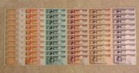 Wholesale Banknote Lot. 60 X Mongolia Notes. 10 X 1, 5, 10, 20, 50, 100 Tugrik