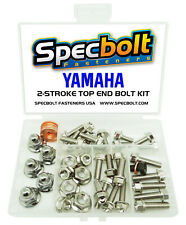 Yamaha YZ125 Top End Engine Bolt Kit (Nickel) YZ 125