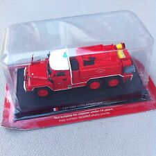 Del Prado 1985 France CCFLACMAT 6x6 1:57 Scale Diecast Fire Truck Model - MIB