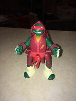 """TMNT Teenage Mutant Ninja Turtles 6"""" Throw 'n Battle Raphael 2013 Viacom (1)#"""