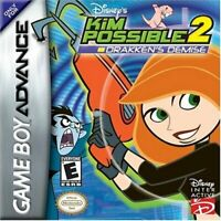 Disney's Kim Possible 2 Drakken Demise - Nintendo Game Boy Advance