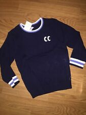 NWT Gymboree Boys Long Sleeve Sweater Navy Pullover Size 4