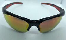 Zippo Orange Semi-Rimless Wrap Sports Sunglasses