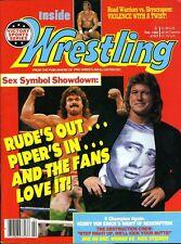 RODDY PIPER/RICK RUDE Sex Symbol Showdown Inside Wrestling Magazine Feb. 1990