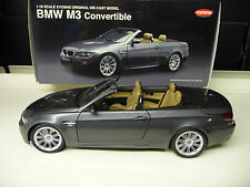 BMW M3 Convertible  E93 grey Kyosho 1:18 FREE SHIPPING