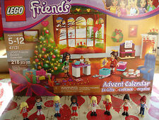 Lego Friends Advent Calendar Rare Collection Holiday Minifigure 3316 41131 41016