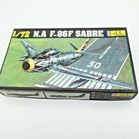 Heller Fighter Plane N.A F-86F Sabre 1/72 Scale Model Kit #277 UNBUILT