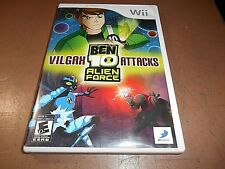 Ben 10: Alien Force - Vilgax Attacks (Wii, 2009)  WITH CASE BUT NO MANUAL