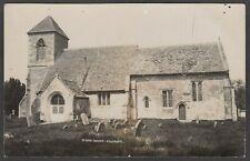 Postcard Poulshot Church nr Devizes Wiltshire early RP