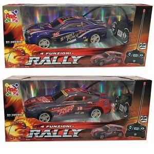AUTO RADIOCOMANDATO APEL PLASTIC 1/24 RALLY 4 FUNZIONI AP1901-06N/04