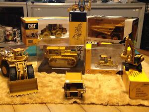 **CAT** lot of 8 diecast caterpillar model equipment