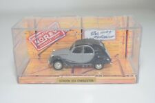 TT 1:43 NOREV CITROEN CITROEN 2CV 2 CV CHARLESTON TWO-TONE GREY MIB