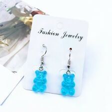 Blue Gummy Bear Earrings