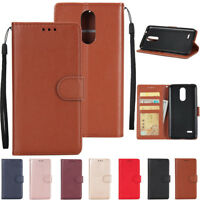 For LG K4 K8 K10 2017/2018 Case Flip Leather Magnetic Wallet Card Stand Cover