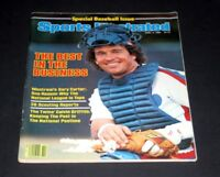 SPORTS ILLUSTRATED APRIL 4 1983  BASEBALL SPECIAL ISSUE GARY CARTER