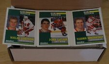 1991-92 Pinnacle Hockey Set 1-420 Nicklas Lidstrom Tony Amonte John LeClair rc